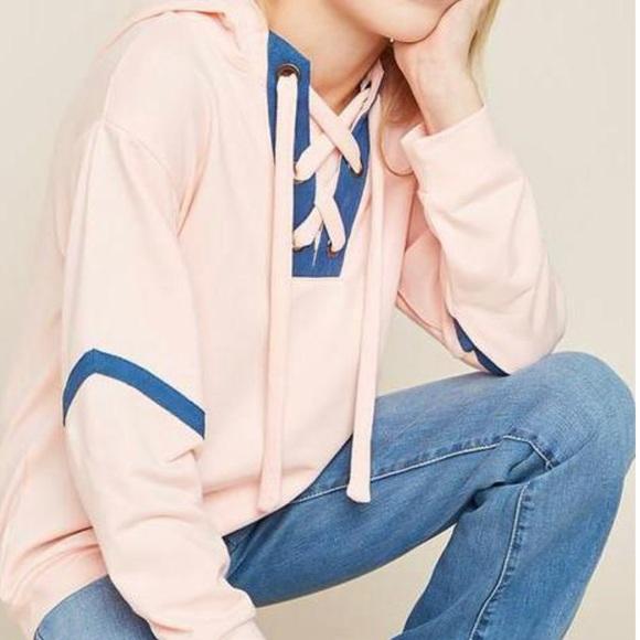 Hayden Other - Hayden Girls: Pale pink Hoodie Sweatshirt